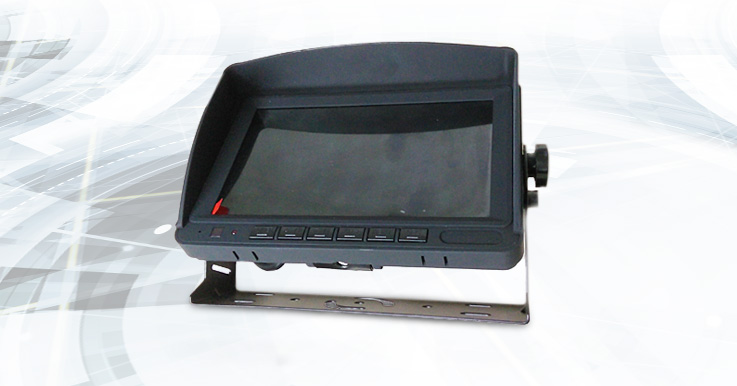2CH – 7 inch LCD vehicle camera monitors